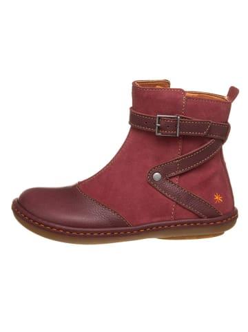 Art Kids Leren boots bordeaux