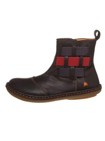 Art Kids Leren boots donkerblauw