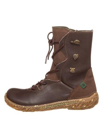 El Naturalista Leder-Stiefel in Braun