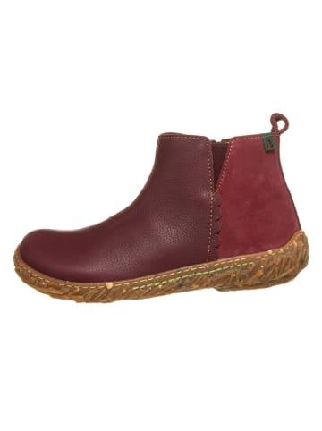 El Naturalista Leren boots bordeaux