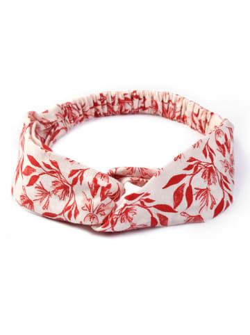 Calida Opaska w kolorze czerwono-kremowym do włosów