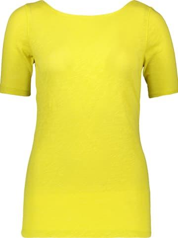 Marc O'Polo Koszulka w kolorze żółtym