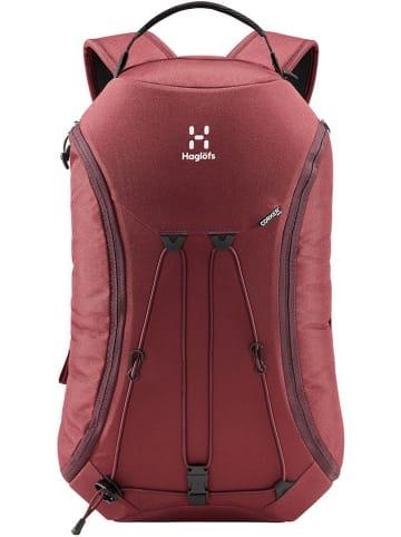 """Haglöfs Plecak jednodniowy """"Corker Medium"""" w kolorze fioletowym - 18 l"""