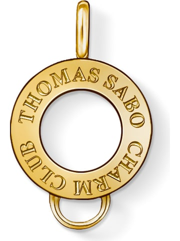 Thomas Sabo Vergulde zilveren hanger