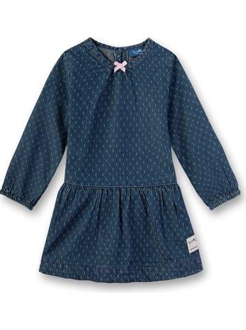 Sanetta Kidswear Jurk donkerblauw