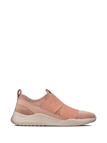 Clarks Sneakers lichtroze
