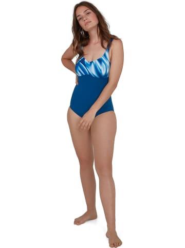 "Speedo Shape-Badeanzug Conture Lusture"" in Blau"