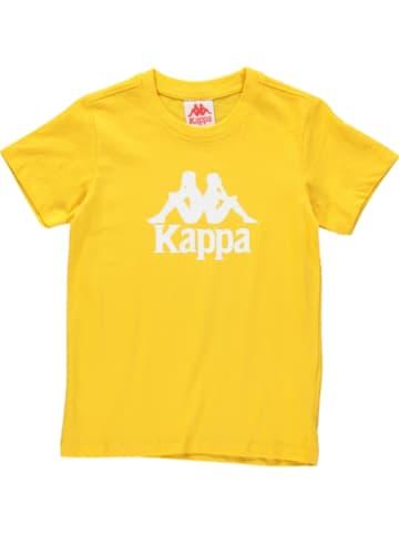 "Kappa Shirt ""Caspar"" geel"