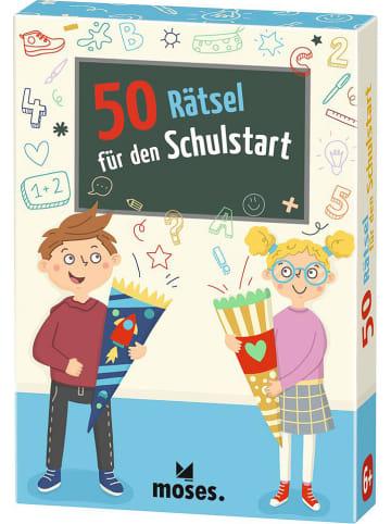 """Moses. Rätselspiel """"50 Rätsel für den Schulstart"""" - ab 6 Jahren"""