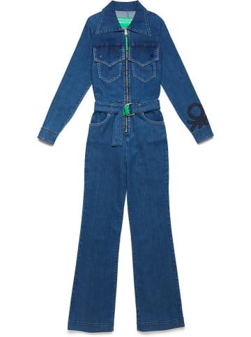 Benetton Spijkerjumpsuit blauw