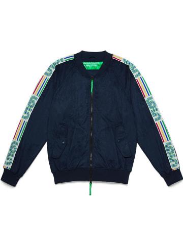 Benetton Sweatvest donkerblauw