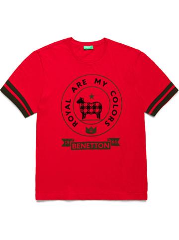 Benetton Shirt rood