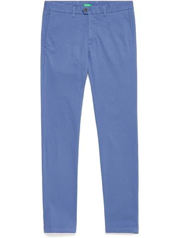 Benetton Chinobroek blauw