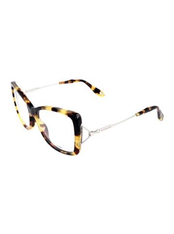 """Givenchy Oprawki """"GV 0028"""" w kolorze brązowo-srebrnym ze wzorem"""