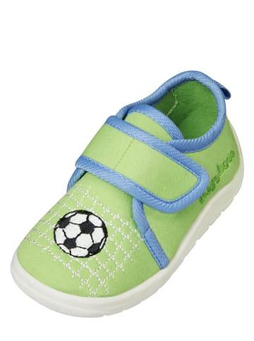 Playshoes Kapcie w kolorze zielonym