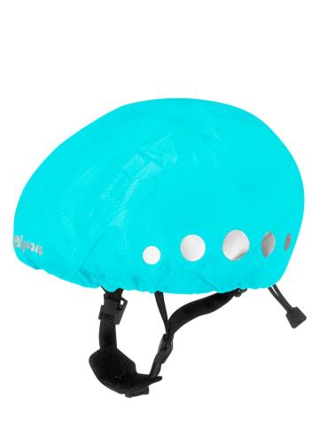 Playshoes Osłona przeciwdeszczowa w kolorze turkusowym na kask