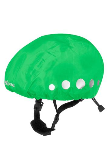 Playshoes Osłona przeciwdeszczowa w kolorze jaskrawozielonym na kask