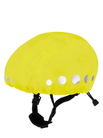 Playshoes Osłona przeciwdeszczowa w kolorze jaskrawożółtym na kask