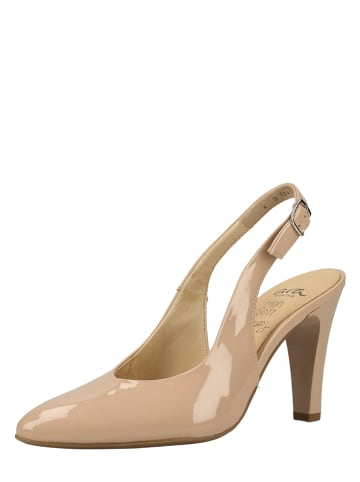 Ara Shoes Leder-Pumps in Beige