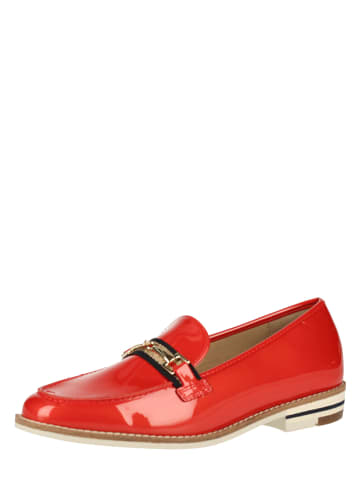 Ara Shoes Leder-Slipper in Rot