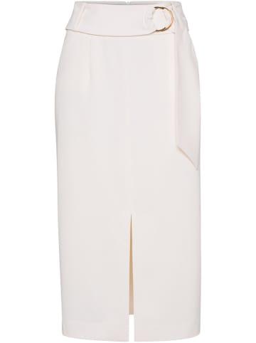 IVY & OAK Spódnica w kolorze kremowym