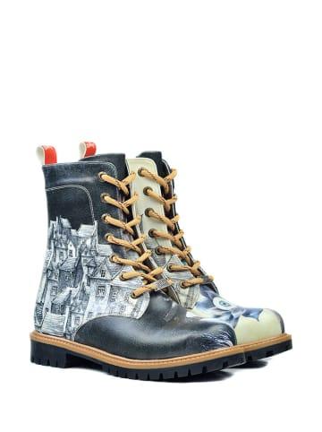 Goby Boots zwart/meerkleurig