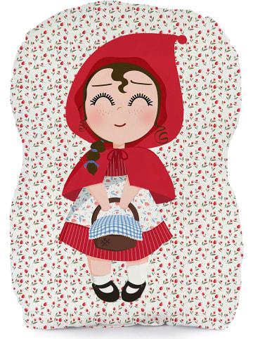 """Mr. Fox Poduszka """"Red Riding Hood"""" w kolorze biało-czerwonym"""