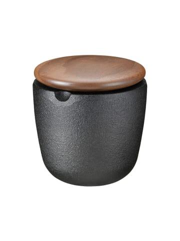 Skeppshult Pojemnik w kolorze brązowo-czarnym na przyprawy - (W)7,5 x Ø 6 cm