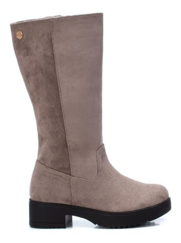 XTI Kids Stiefel in Taupe