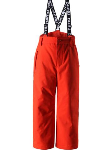 """Reima Spodnie narciarskie """"Loikka"""" w kolorze czerwonym"""