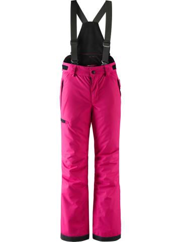 """Reima Spodnie narciarskie """"Terrie"""" w kolorze różowym"""