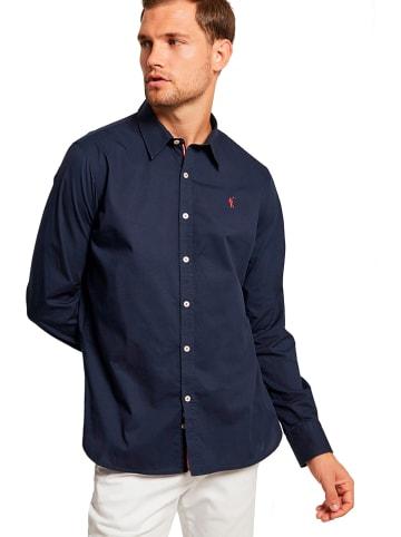 Polo Club Koszula - Slim fit - w kolorze granatowym