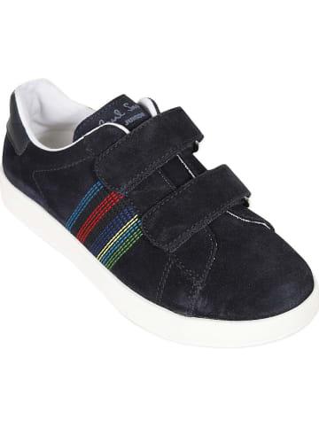"Paul Smith Leder-Sneakers ""Rabbit"" in Dunkelblau"
