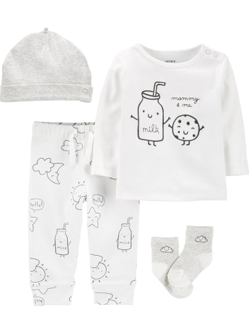 Carter's 4tlg. Outfit in Creme