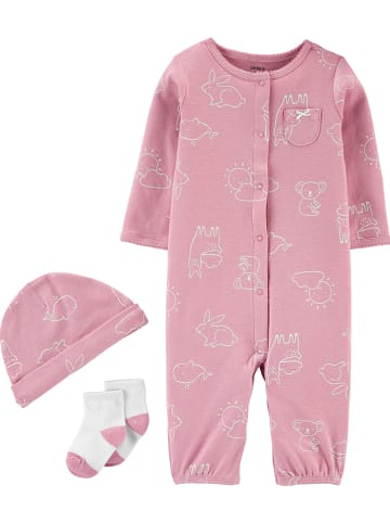 Carter's 3tlg. Outfit in Beere