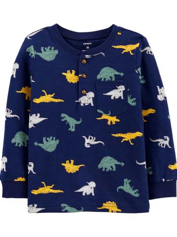 Carter's Sweatshirt donkerblauw/meerkleurig