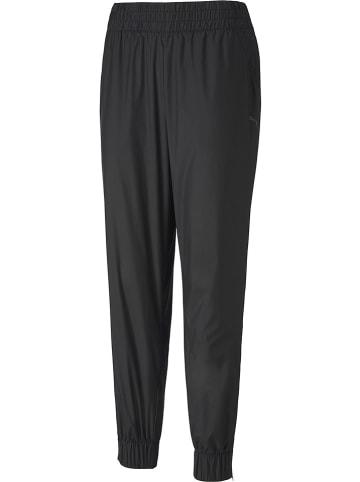 """Puma Spodnie dresowe """"Woven"""" w kolorze czarnym"""