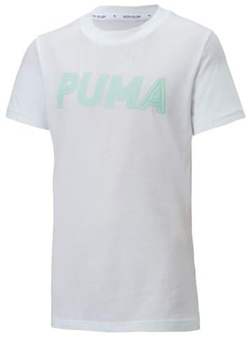 """Puma Koszulka sportowa """"Modern Sports"""" w kolorze białym"""