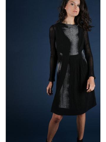 """Bleu Blanc Rouge Sukienka """"Valerie"""" w kolorze czarno-szarym"""