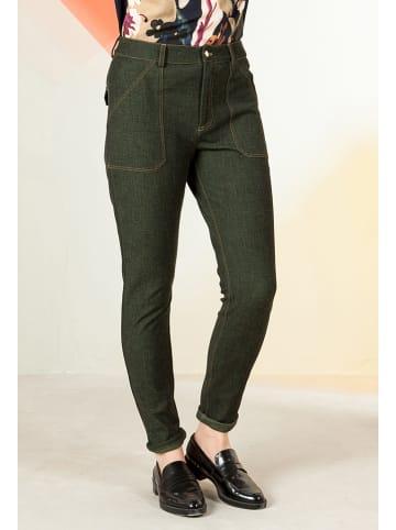 "Bleu Blanc Rouge Jeans ""Pop"" in Khaki"