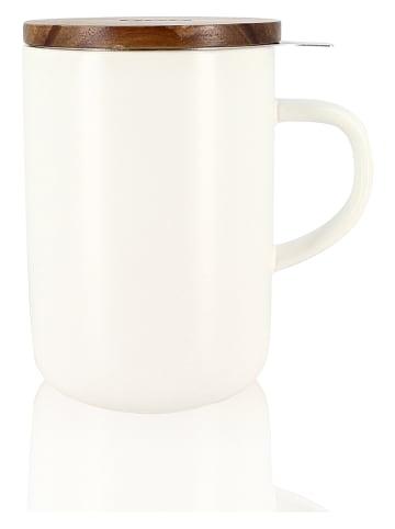 """Pirouette Kubek """"Juliet"""" w kolorze białym do herbaty - 475 ml"""