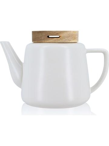 """Ogo Living Imbryk """"Enzo"""" w kolorze białym do herbaty - 680 ml"""
