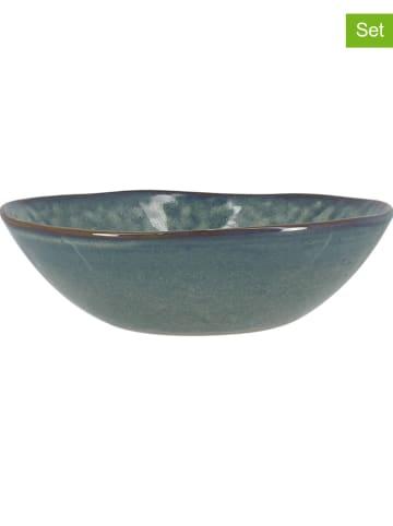 Ogo Living Talerze głębokie (6 szt.) w kolorze szaro-niebieskim - Ø 18 cm