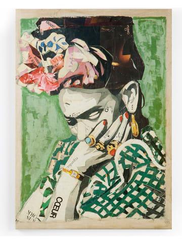 """Tierra Bella Leinwanddruck """"Frida"""" - (B)50 x (H)70 cm"""