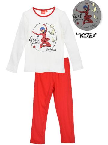 "Miraculous Pyjama ""Ladybug"" in Creme/ Rot"
