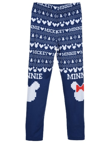 """Disney Minnie Mouse Legging """"Minnie Mouse"""" donkerblauw/wit"""