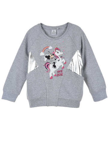 """Disney Minnie Mouse Bluza """"Minnie Mouse"""" w kolorze szarym"""
