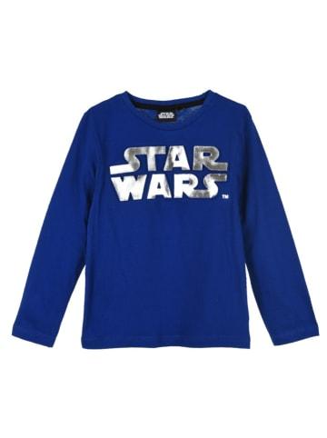 """Star Wars Longsleeve """"Star Wars"""" in Blau"""