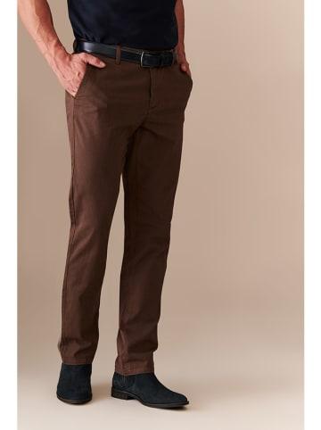 TATUUM Spodnie w kolorze brązowym