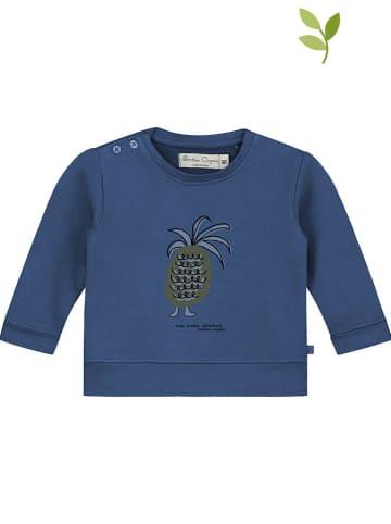 Smitten Organic Bluza w kolorze niebieskim